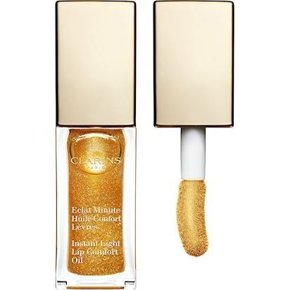 Clarins Instant Comfort Lip Oil 07 Honey Glam