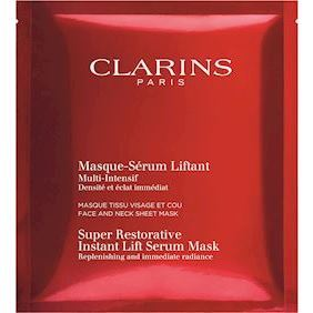 Clarins Super Restorative Instant Lift Mask 1 Pcs 30 ml.