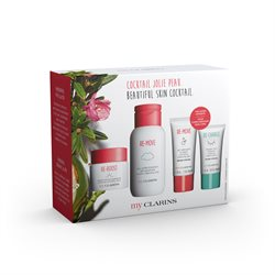 Clarins My Clarins Gavesæt 50 ml.  My Clarins Reboost Cream 50ml, 200ml remove, 30ml remove gel, 15ml sleep