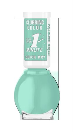 Miss Sporty Clubbing Color nail polish 150 Light mint