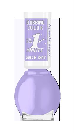 Miss Sporty Clubbing Color nail polish 190 Lilac