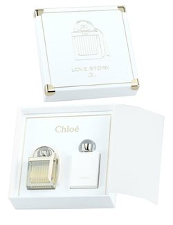 Chloe Love Story 50 ml. eau de parfum + 100 ml. Bodylotion
