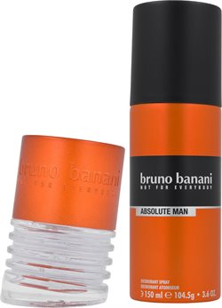 Bruno Banani Absolut Man Eau De Toilette 30Ml + Deodorant Spray 150Ml
