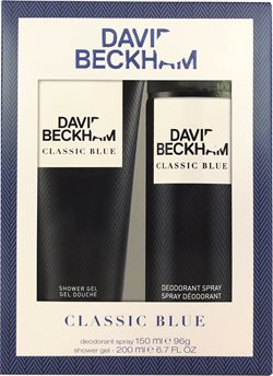 David Beckham Classic Blue Deodorant 150 ml. + Showergel 200 ml