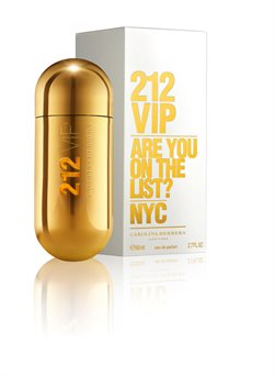 Carolina Herrera 212 VIP (Are You On The List?) Eau de parfum 50 ml.