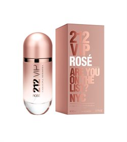 Carolina Herrera 212 VIP Rosé (Are You On The List?) Eau de parfum 80ml.
