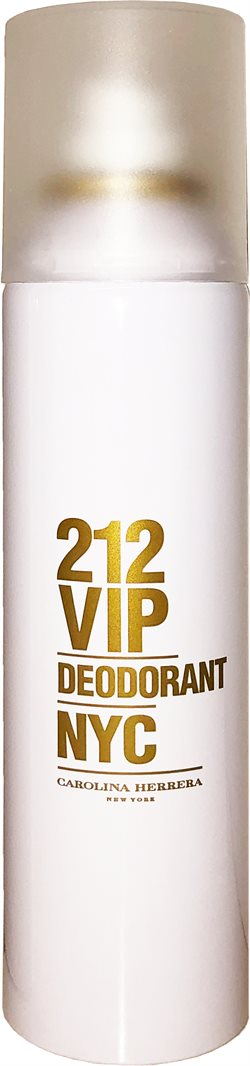 Carolina Herrera 212 VIP (Are You On The List?) Deodorant 150ml.