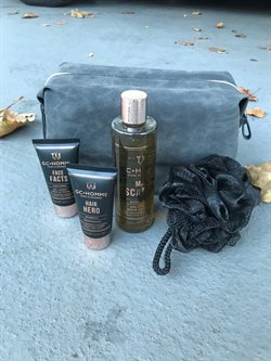 Grace Cole gavesæt - Herre shampoo, herre body wash, herre face wash og body polisher