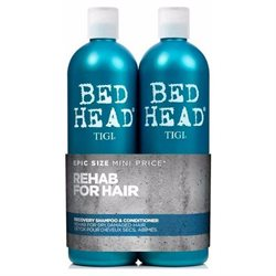 Tigi Bed Head Rehab For Hair Recovery 750 ml. Shampoo og 750 ml. Conditioner